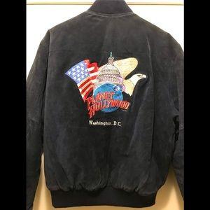 Planet Hollywood Suede Jacket 90's Vintage